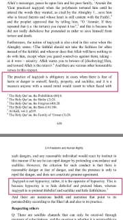 Taqiyyah is obligatory