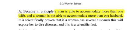 #Polygamy #Misogyny
