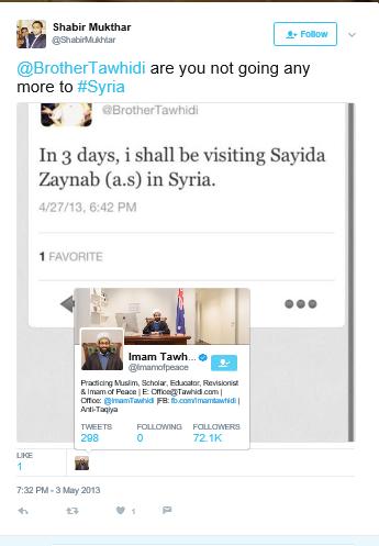 tawhidi liked tweet verified