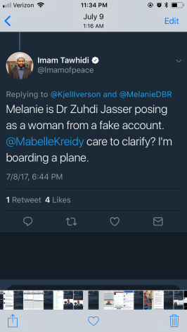 Tawhidi tagged Mabelle several months prior
